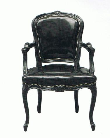 Pretty Bold Is Still Pretty Pretty » Black Lacquer Chair