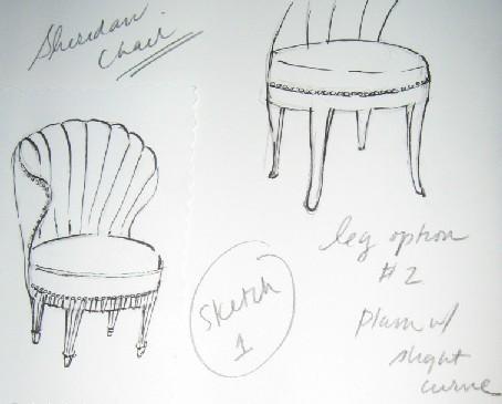 furniture sketch 1920s the paris apartment page 11