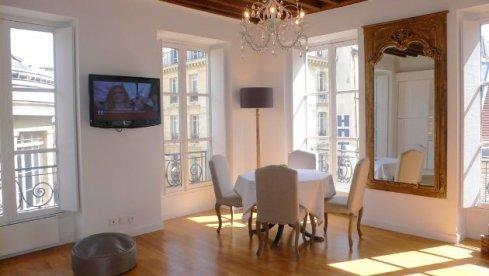 fleeting glimses into paris apartments | the paris apartment