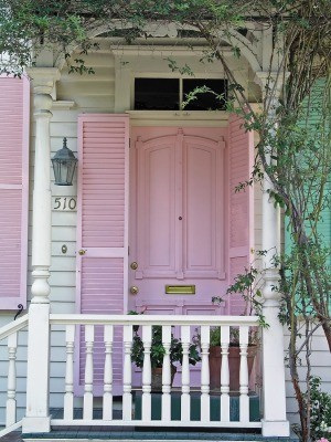 door,entryway,patio,pink