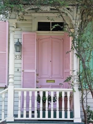 door,entryway,patio,pink