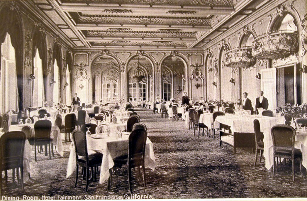 Fairmont Hotel San Francisco Gold Room