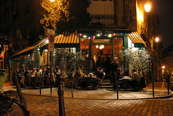 Cafe Janou Restaurant Paris