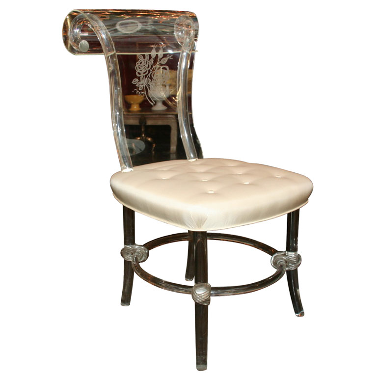 Lucite Furniture  the paris apartment