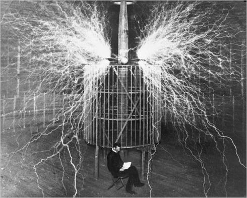 Tesla's reading light