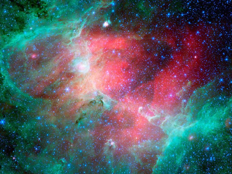 neon nebula in space - photo #25