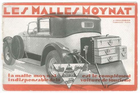 maison Moynat 1929 Ad