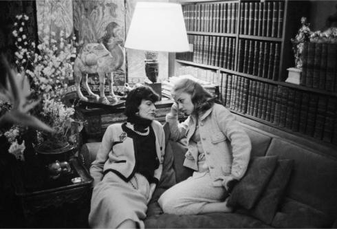 Coco Chanel & Jeanne Moreau