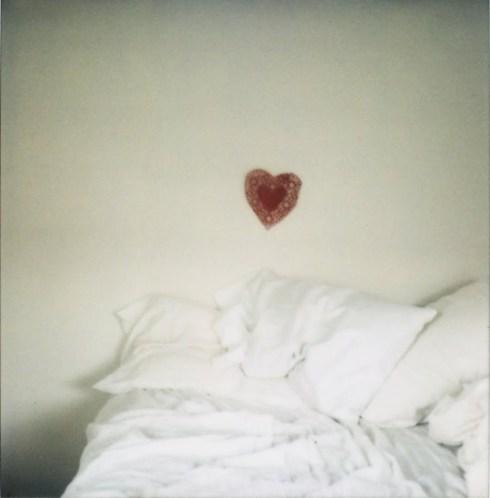 heart doilie