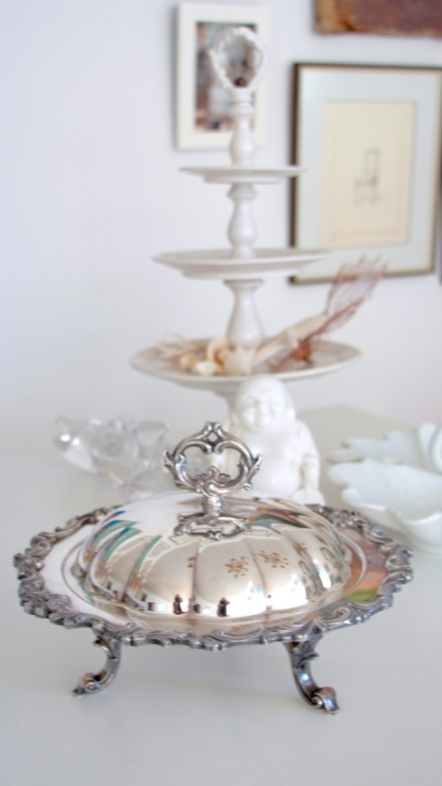 Silver-serving dish-tpa