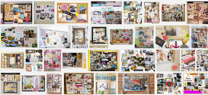 vision boards - google images