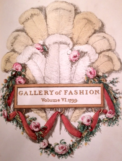 (1) Gallery of Fashion 1799
