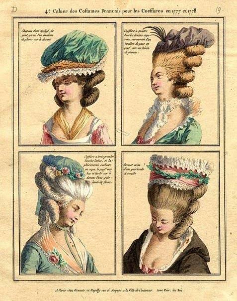 French Fashion Plates 1777 1